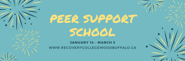 Peer Support School Starting in January
